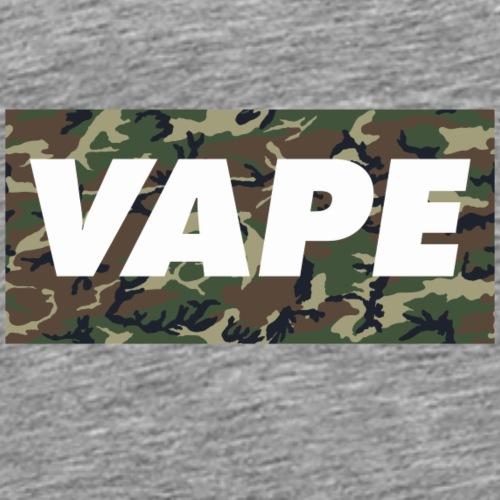 VAPE Camo - Men's Premium T-Shirt