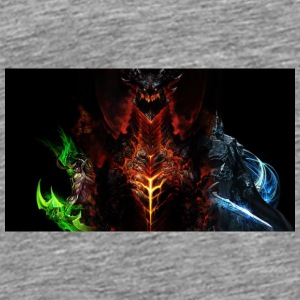 world_of_warcraft_dragon_characters_faces_16248_19 - Men's Premium T-Shirt
