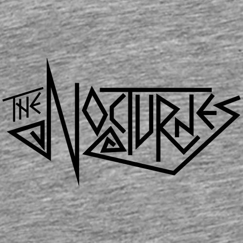 The Bloomington Nocturnes (Black text) - Men's Premium T-Shirt