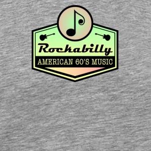 American Rockabilly 60' Music - Men's Premium T-Shirt