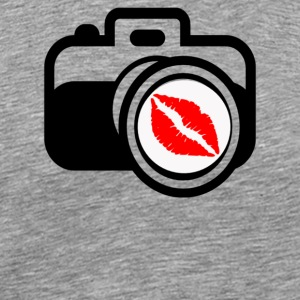 Camera Kiss - Men's Premium T-Shirt