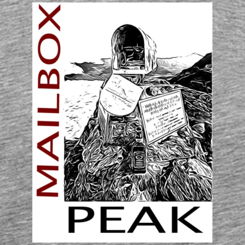 Mailbox Peak - Men's Premium T-Shirt