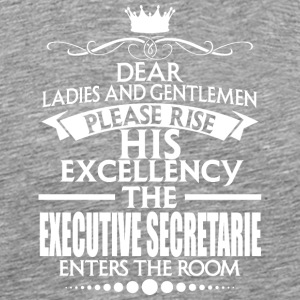 EXECUTIVE SECRETARIE - EXCELLENCY - Men's Premium T-Shirt