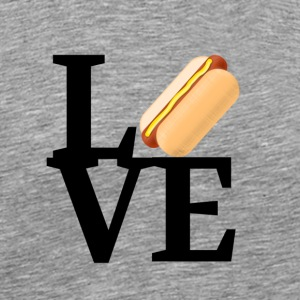 Hot Dog Love - Men's Premium T-Shirt