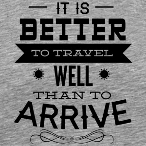 it_is_better_to_travel - Men's Premium T-Shirt