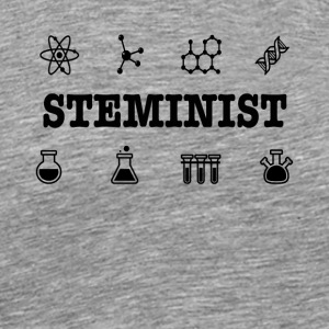 Steminist Science March Environmental Feminist Tee - Men's Premium T-Shirt