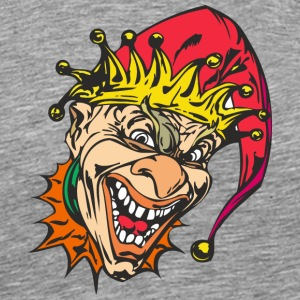EVIL_CLOWN_7_colored - Men's Premium T-Shirt