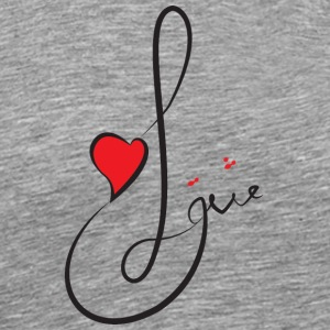 T shirt_Love2 - Men's Premium T-Shirt