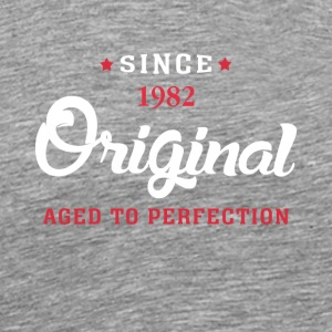 Since 1982 Original Aged To Perfection Cool Gift - Men's Premium T-Shirt