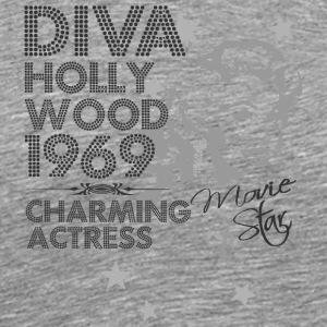 Hollywood actress - Men's Premium T-Shirt