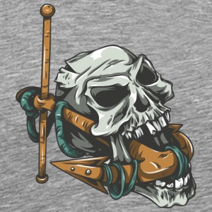 skull_with_anchor - Men's Premium T-Shirt