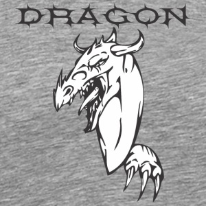 dragon_with_hand - Men's Premium T-Shirt