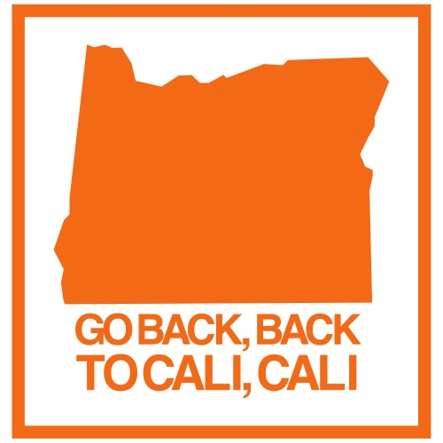 GO BACK TO CALI - Men's Premium T-Shirt