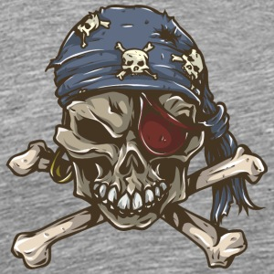 pirate_skull - Men's Premium T-Shirt