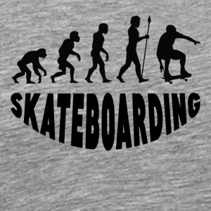 Skateboarding Evolution - Men's Premium T-Shirt