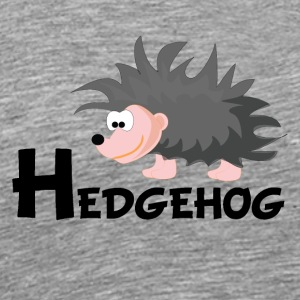 Cartoon Hedgehog - Men's Premium T-Shirt