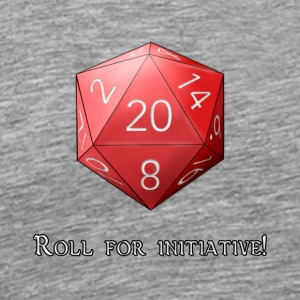 Roll for initiative - Men's Premium T-Shirt