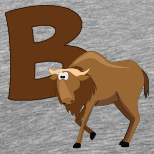 B Is For Buffalo - Men's Premium T-Shirt