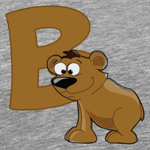 B Is For Bear - Men's Premium T-Shirt