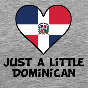 Just A Little Dominican - Men's Premium T-Shirt