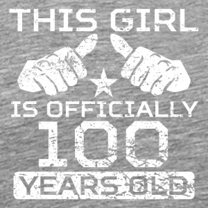 This Girl Is Officially 100 Years Old - Men's Premium T-Shirt