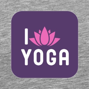 I Lotus Yoga - Men's Premium T-Shirt