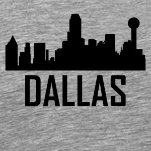 Dallas Texas City Skyline - Men's Premium T-Shirt