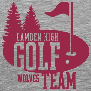 Camden High Golf Team Wolves - Men's Premium T-Shirt