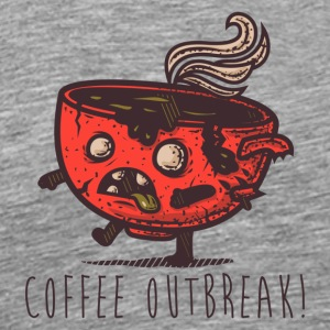 Coffee Outbreak - Men's Premium T-Shirt