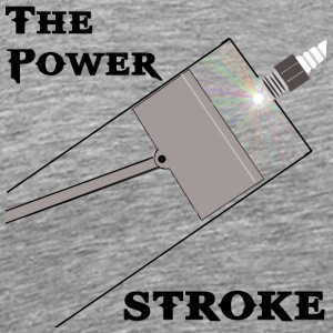 The Power Stoke - Men's Premium T-Shirt