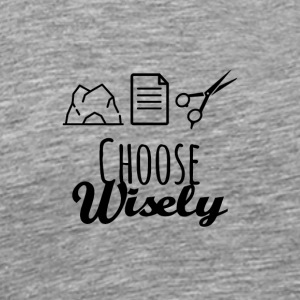 Wise choice - Men's Premium T-Shirt