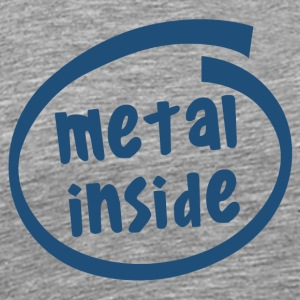 metal inside (1838C) - Men's Premium T-Shirt