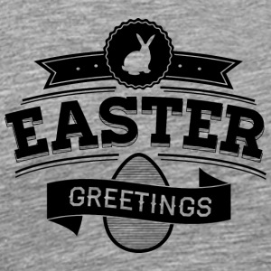 easter_greeting - Men's Premium T-Shirt