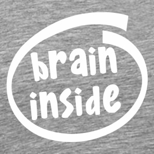 brain inside (1800B) - Men's Premium T-Shirt