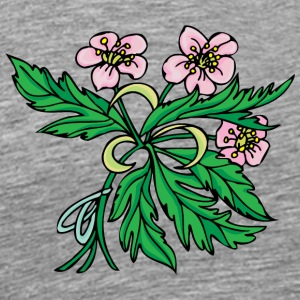 pink_and_green - Men's Premium T-Shirt