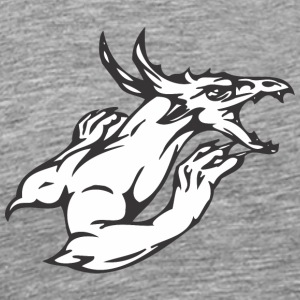 musclar_dragon - Men's Premium T-Shirt