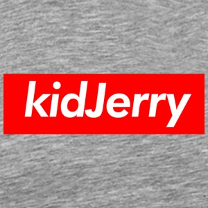 kidJerry Box Logo Red - Men's Premium T-Shirt