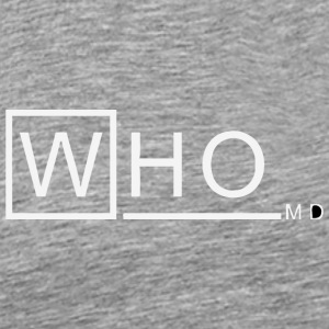 Who M D vectorized - Men's Premium T-Shirt