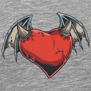demon_heart - Men's Premium T-Shirt