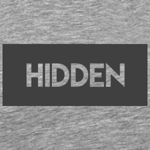 Hidden Grey and Transparent Logo - Men's Premium T-Shirt