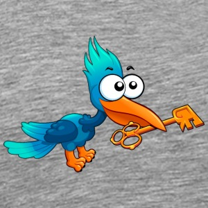 fantastic bird fantastic character key - Men's Premium T-Shirt
