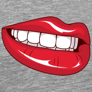 smiling_lips - Men's Premium T-Shirt