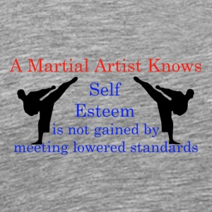 A Martial Arts Knows #1 - Kicks - Men's Premium T-Shirt