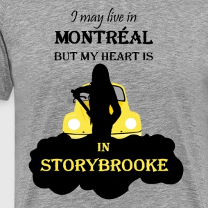 I may live in Montreal - Men's Premium T-Shirt