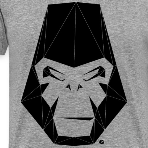Urban Gorilla Wear Poly black - Men's Premium T-Shirt