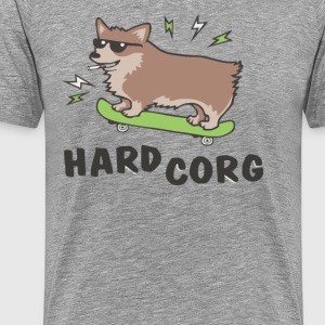 Dog Smoking Cool - Men's Premium T-Shirt