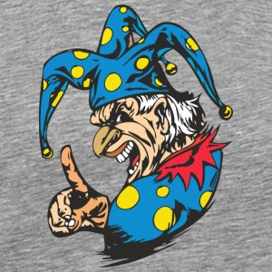 EVIL_CLOWN_4_colored - Men's Premium T-Shirt