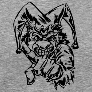 EVIL_CLOWN_25_black - Men's Premium T-Shirt