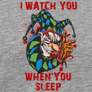 EVIL_CLOWN_2_WATCHING_ - Men's Premium T-Shirt