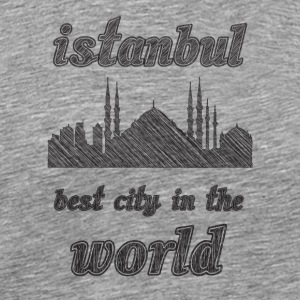Istanbul Best city in the world - Men's Premium T-Shirt